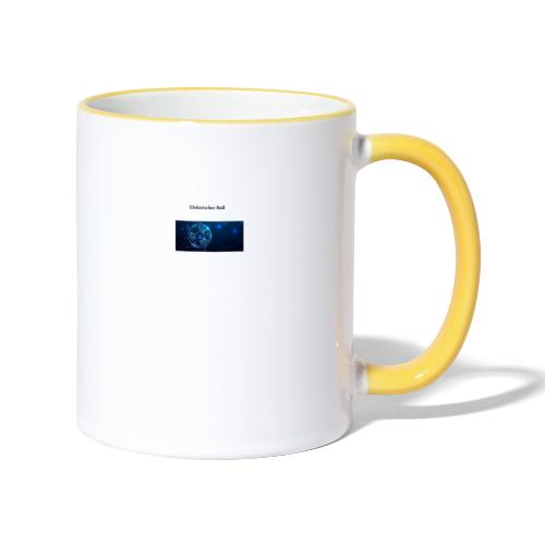 Elektrischer Ball - Tasse zweifarbig