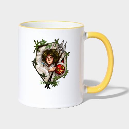 Geneworld - Mononoke - Mug contrasté