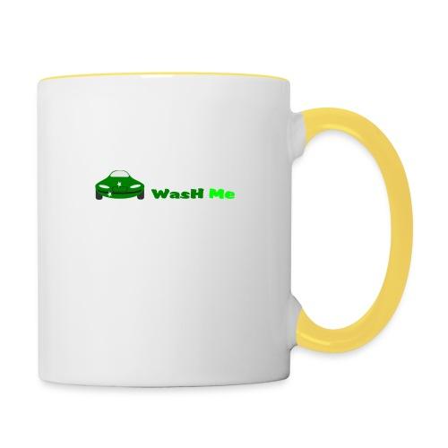 wash me - Contrasting Mug