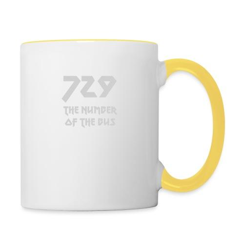 729 grande grigio - Tazze bicolor