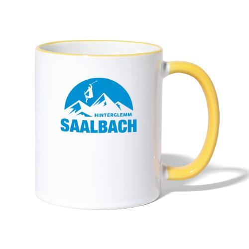 Summit Saalbach - Mok tweekleurig