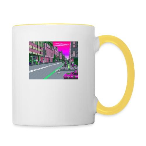 Game City 80's - Tazze bicolor
