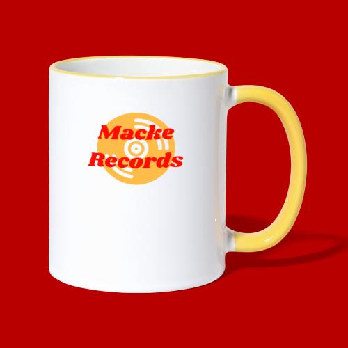 mackerecords merch - Tvåfärgad mugg