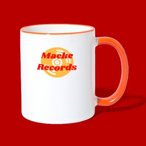 mackerecords merch - Tvåfärgad mugg