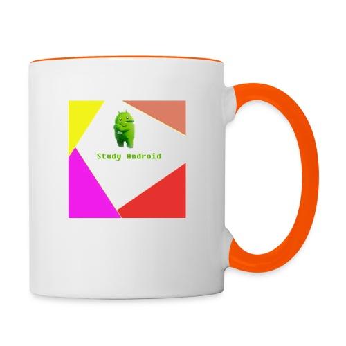 Study Android - Taza en dos colores