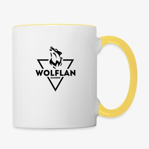 WolfLAN Gaming Logo Black - Contrasting Mug