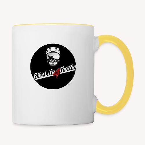 motorcycle Logo 2 - Contrasting Mug