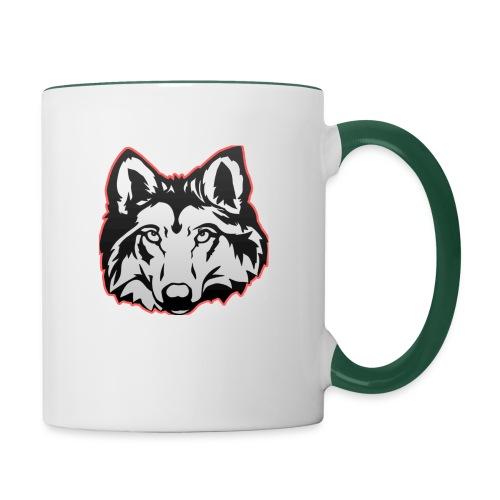 Wolfie (Red) - Contrasting Mug