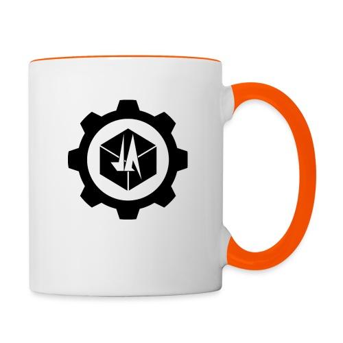 Jebus Adventures Logo (Transparent) - Contrasting Mug
