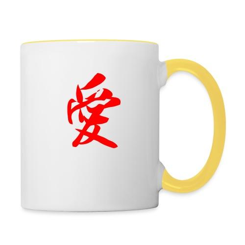 chine - Mug contrasté