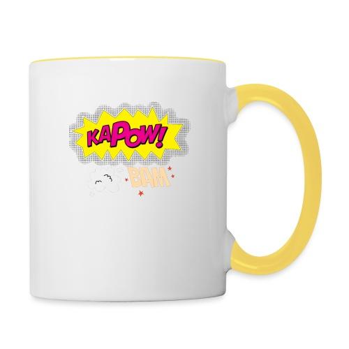 kaboum bam - Mug contrasté
