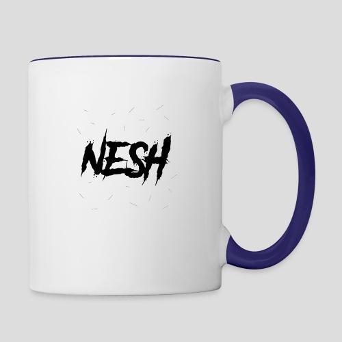 Nesh Logo - Tasse zweifarbig