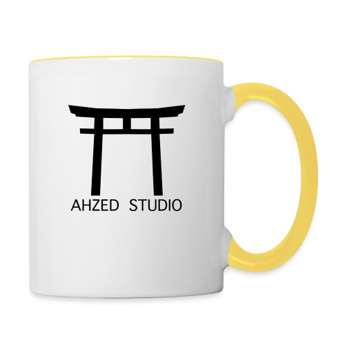 Ahzed Studio - Logo Torii - Mug contrasté
