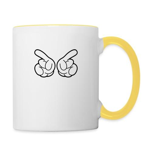 Main cool - Mug contrasté