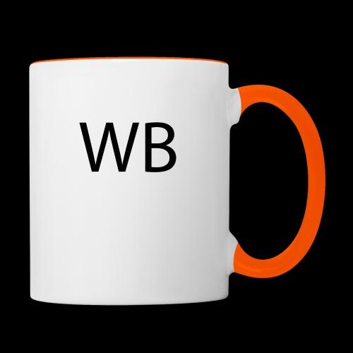 WB Logo - Tasse zweifarbig
