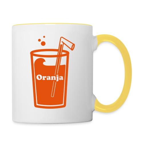 Oranja - Mok tweekleurig