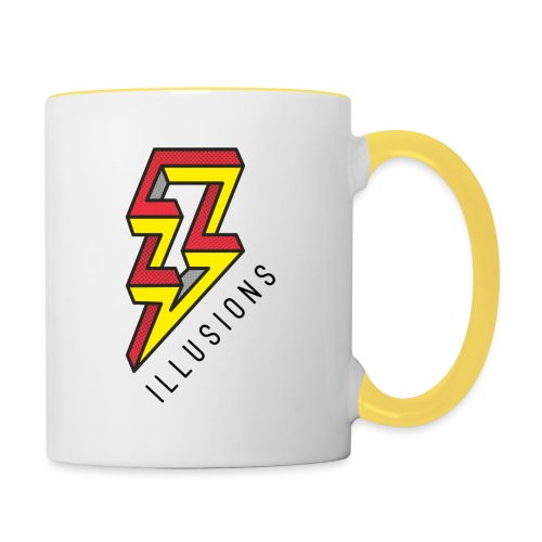 ♂ Lightning - Tasse zweifarbig