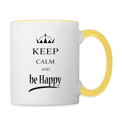 keep_calm and_be_happy-01 - Tazze bicolor