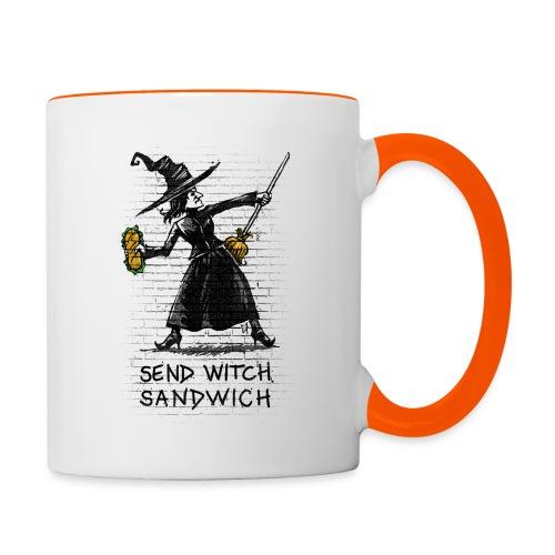 Send Witch Sandwich - Contrasting Mug