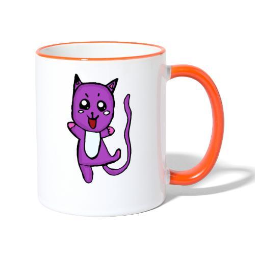 Lino le chat - Mug contrasté