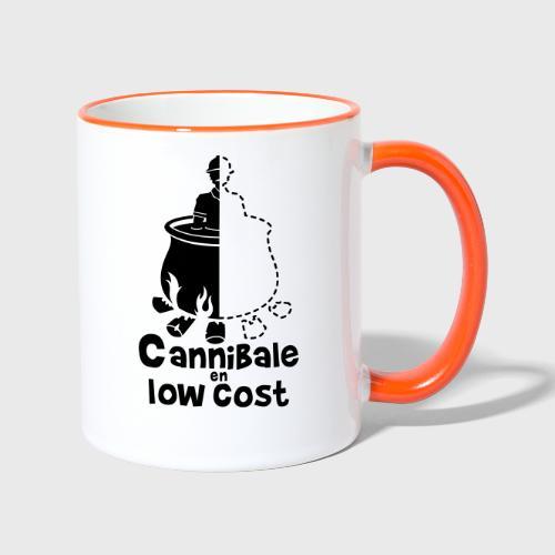 Cannibale en Low Cost - Mug contrasté