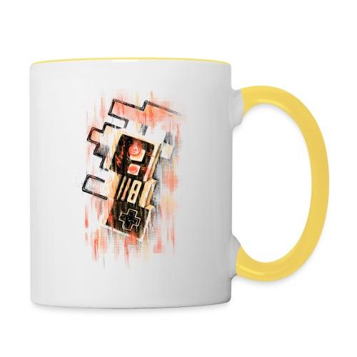 Blurry NES - Contrasting Mug