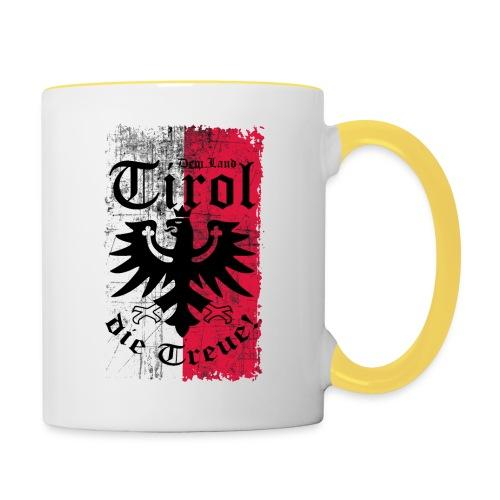 Tirol - Tasse zweifarbig
