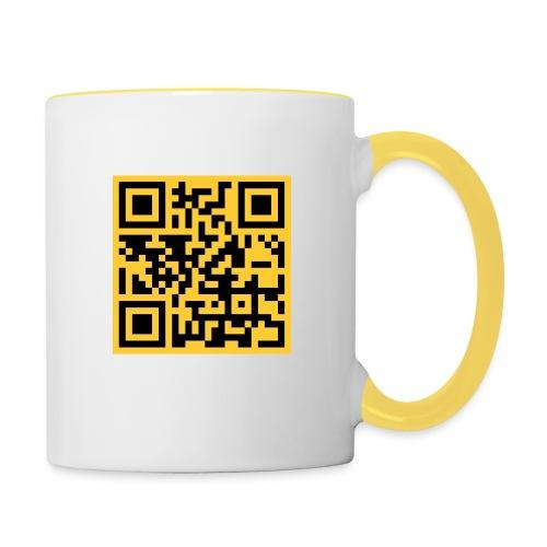 LogoMemme2 - Tasse zweifarbig