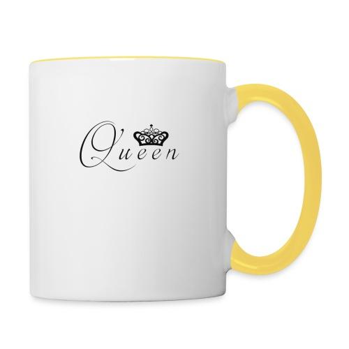 queen - Tasse zweifarbig