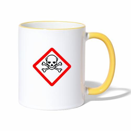 Myrkky vaara - tuoteperhe - Kaksivärinen muki
