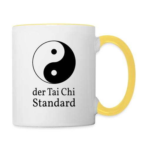 der Tai Chi Standard - Tasse zweifarbig