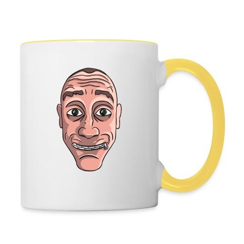Zippy Face! - Contrasting Mug