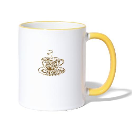Cup of Coffee - Tasse zweifarbig