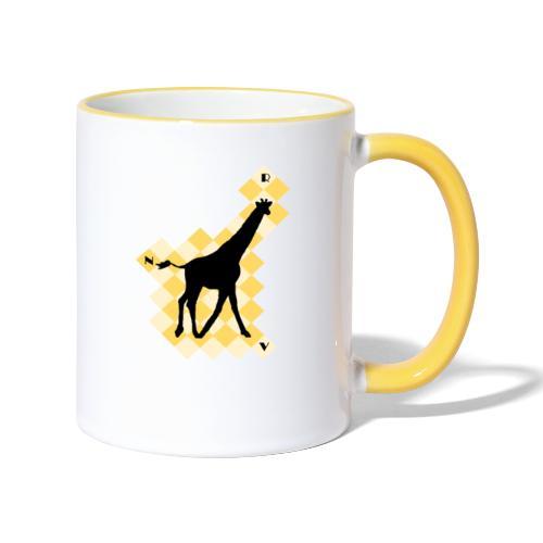GiraffeSquare - Kaksivärinen muki