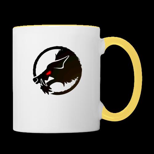 ThePack Logo v2B - Tasse zweifarbig