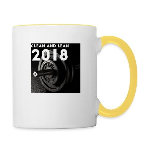 Clean and Lean 2018 - Contrasting Mug