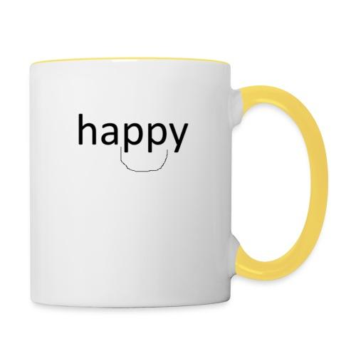 happy - Mok tweekleurig