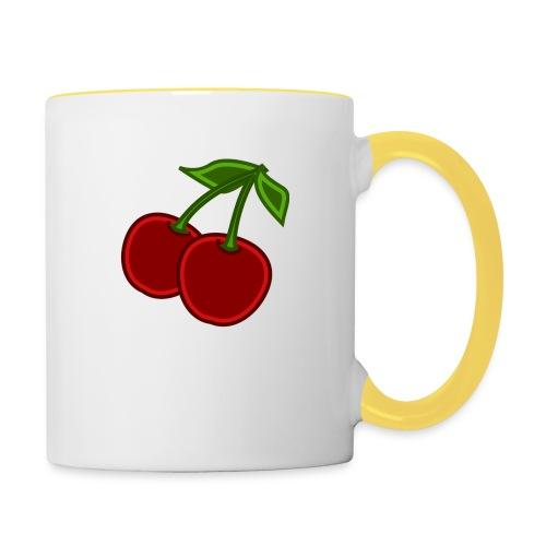 cherry - Kubek dwukolorowy
