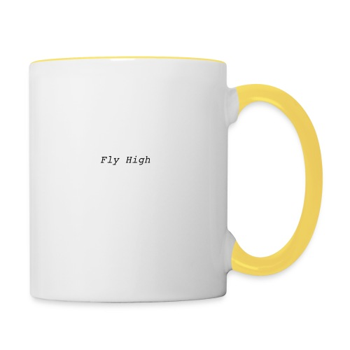 Fly High Design - Contrasting Mug