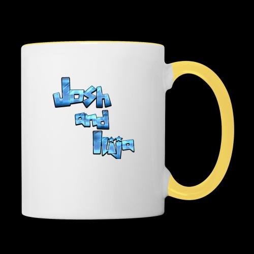 Josh and Ilija - Contrasting Mug