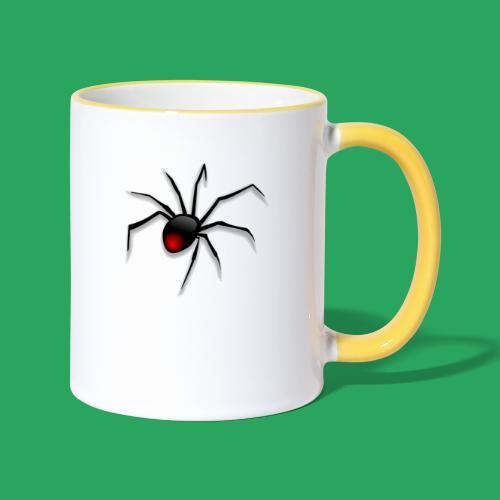 spider logo fantasy - Tazze bicolor