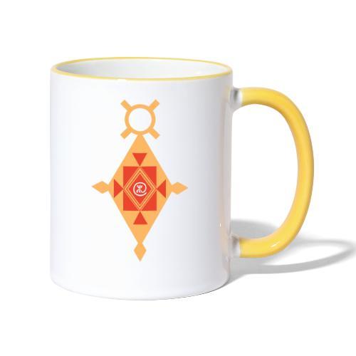 Etoile Croix du Sud Berbère - Mug contrasté