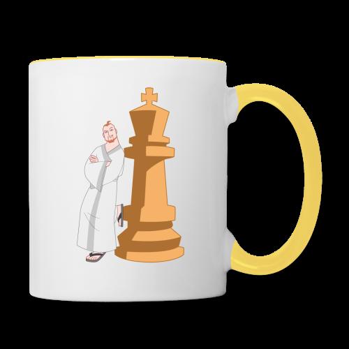 Samurai with King - Contrasting Mug
