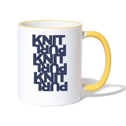 St, dark - Contrasting Mug