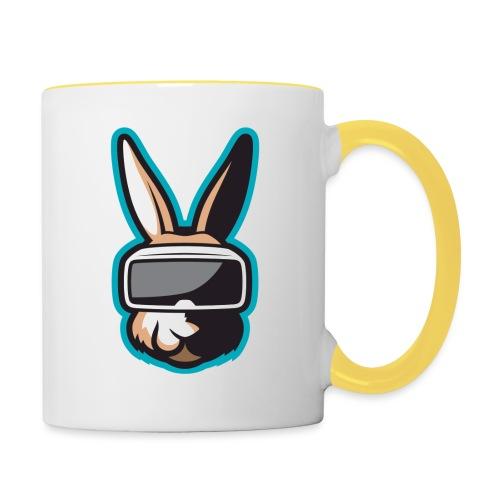 TiG Rabbit logo - Contrasting Mug
