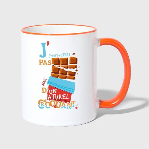 Tablettes de Chocolat - Mug contrasté