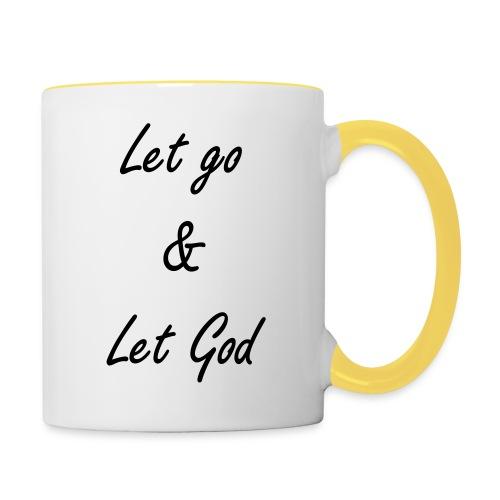 Let go & Let God - Mok tweekleurig