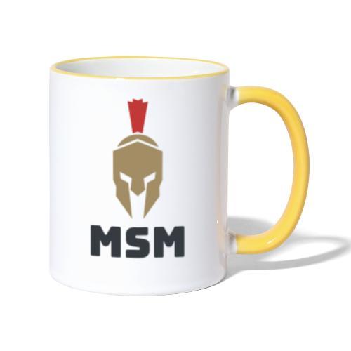 MSM Warrior - Tofarvet krus