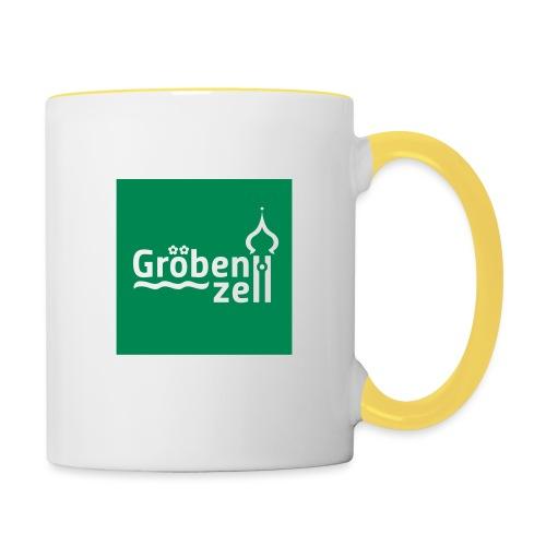 Groebenzell-Logo_1c - Tasse zweifarbig