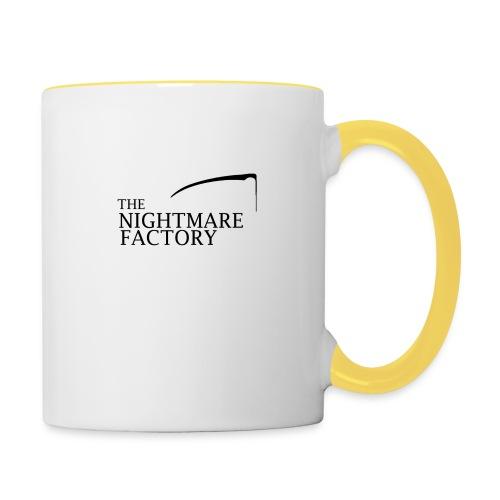 nightmare factory Nero png - Contrasting Mug